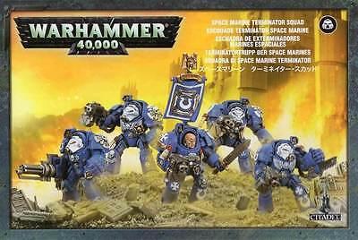 Warhammer 40k - Space Marine Terminators Terminator Squad