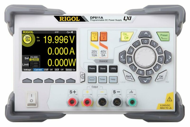 Rigol DP811A Dual Range 200 W Single Output Power Supply