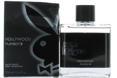 Hollywood by Playboy for Men EDT Cologne Spray 3.4 oz.-Damaged Box NEW