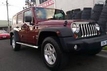 2008 Jeep Wrangler Unlimited Convertible Sunshine North Brimbank Area Preview