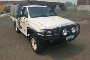 2003 Toyota Hilux Cab Chassis 4x4 Yarram Wellington Area Preview