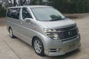 2003 Nissan Elgrand Highway Star E51 Auto 3.5LTR Arncliffe Rockdale Area Preview