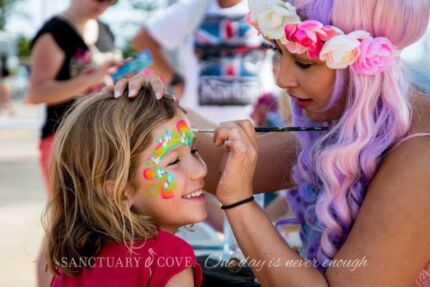 FACE PAINTER - GOLD COAST - FACE PAINTING