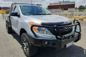 2013 Mazda BT-50 XT Cab Chassis Single Cab Yarram Wellington Area Preview
