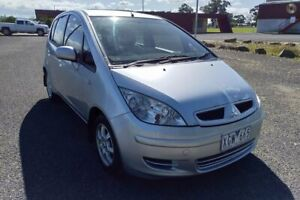 2004 Mitsubishi Colt RG LS Silver Continuous Variable Hatchback Yarram Wellington Area Preview