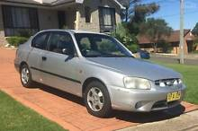 2001 HYUNDAI ACCENT - GREAT VALUE FOR MONEY - PICK UP TODAY!! Old Toongabbie Parramatta Area Preview