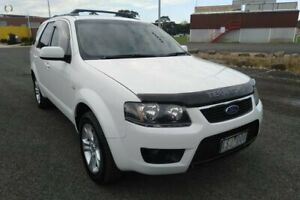 2010 Ford Territory SY MkII TS (RWD) White 4 Speed Auto Seq Sportshift Wagon Yarram Wellington Area Preview