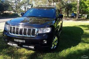 2011 Jeep Grand Cherokee WK Overland Wagon 5dr Spts Auto 6sp 4x4 Winmalee Blue Mountains Preview
