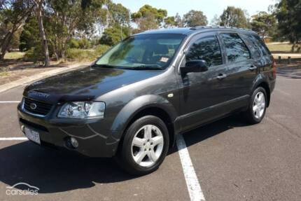 2007 Ford Territory TS | 7 Seater & DVD player