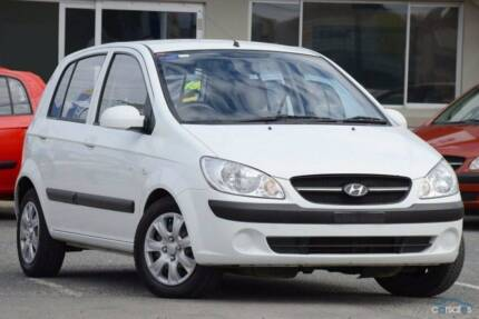 2010 Hyundai SX Getz Hatchback, Automatic, 6 monthsRego, Warranty Greenslopes Brisbane South West Preview