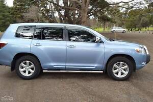 Toyota Kluger 2009 Lara Outer Geelong Preview