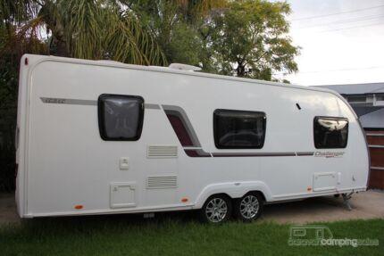 MUST SELL - 2013 SWIFT Challenger Sport 636 Caravan 6 berth