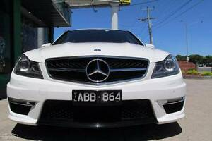 2013 Mercedes-Benz C63 W204 AMG White 7 Speed Sports Automatic Lalor Whittlesea Area Preview