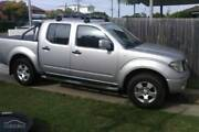 Silver 2014 Nissan Navara Silverline SE 68,000 KMs Freshwater Manly Area Preview