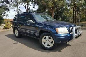 2004 Jeep Grand Cherokee  WG Limited Wagon 5dr Auto 5sp 4x4 4.7i Sydney City Inner Sydney Preview