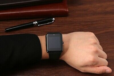 New Smart Watch iPhone Android with Texting Calling Camera SIM Slot Touch Screen
