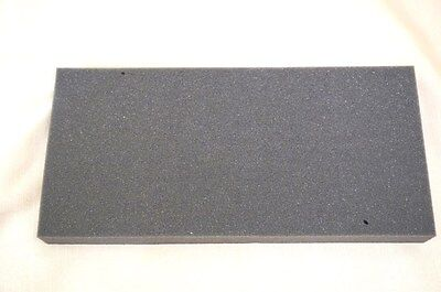 1x Recycled Foam Packing Block Shipping Gray Medium-high Density 5.5x12 Thick 1