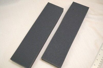 Lot 2 Recycled Foam Packing Pad Block Protection Shipping Gray Sheet Long 3x12