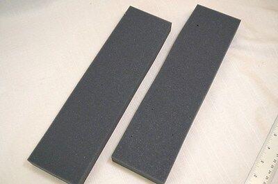 Lot 2 Recycled Foam Packing Pad Block Protection Shipping Gray Sheet Long 3x12