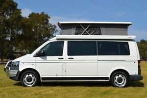 VW 4Motion Automatic Frontline Campervan with Shower & Low Km