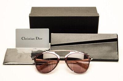 Christian Dior Reflected 1RQP7 purple multi aviator frame sunglasses NEW (Dior Reflected Sunglasses)