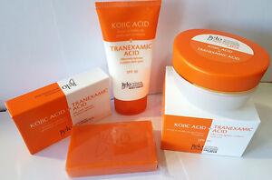 BELO SET OF 3 - Intensive Whitening BODY CREAM + FACE & NECK CREAM + SOAP