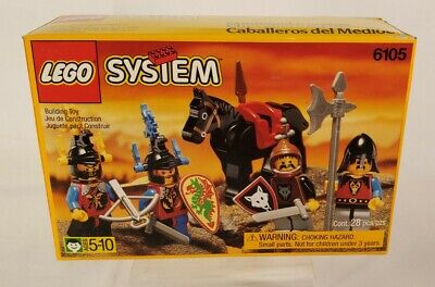 LEGO Rare Medieval Knights 6105 New Sealed Box Mint Condition 1993 Castle Series