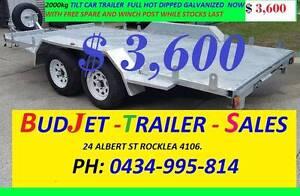 NEW CAR TRAILER HVY DUTY 2T ATM TILT FROM $3,600 51# Rocklea Brisbane South West Preview