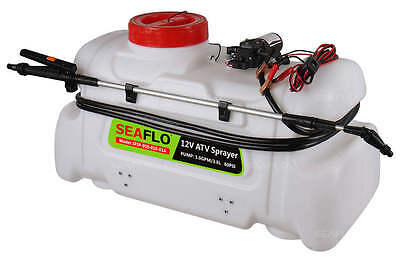 - Seaflo ATV Agricultural Electric Spot Sprayer 13 Gallon 80 psi 1 GPM