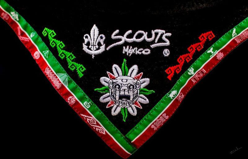 World Scout Jamboree 2019 Mexican Contingent neckerchief