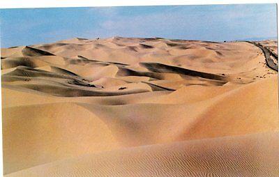 Algodones Dunes, Desert in Arizona- California, Scenic, Unposted- Postcard