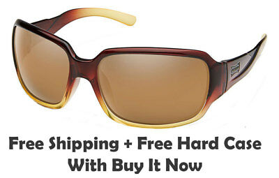 - Suncloud Laurel Sunglasses - Brown Fade Frame / Sienna Mirrored Polarized Lenses