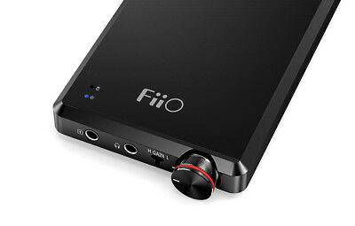 Fiio A5 Portable Headphone Amplifier (Black or Titanium)