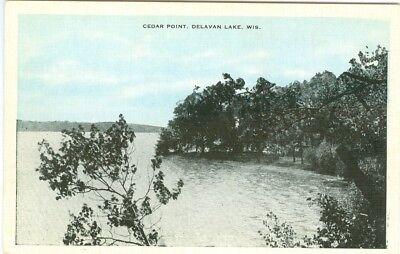 Delavan Lake WI x Cedar Point (Lake Delavan)