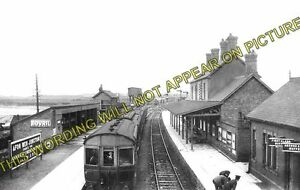 Afonwen Railway Station Photo. Abererch - Criccieth. Pwllheli to Portmadoc Line