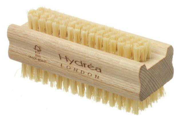 Hydrea Wooden Nail Brush Strong Cactus Bristles