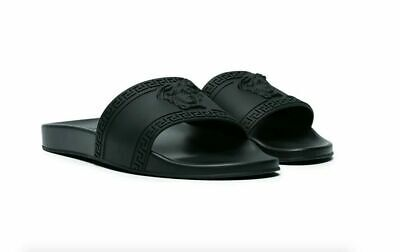 VERSACE COLLECTION MEN'S SLIPPERS SANDALS SLIDES* All SIZE*