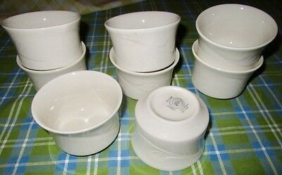 6 White 8 Oz Foodservice Restaurant Syscoware 1102m Soup Chili Custard Bowls Cup