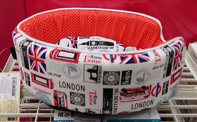 FREE SHIP UK PRINT SMALL Dog & Cat Cushion Pet Puppy Bed House MACHINE WASHABLE