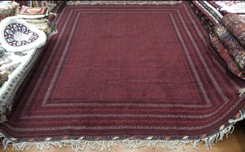 Large Persian Princess Bokhara Wool Rug
