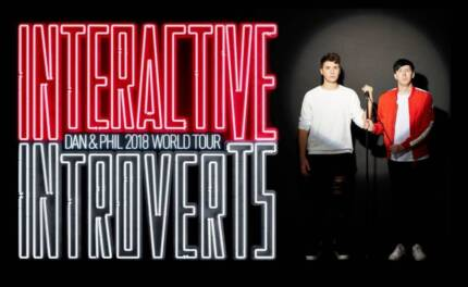 WANTED: Dan and Phil Interactive Introverts VIP ticket (BRISBANE)