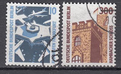 Berlin 1988 Mi. Nr. 798-799 Gestempelt LUXUS!!!