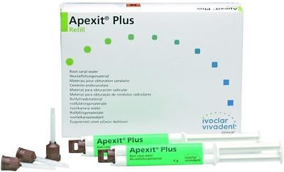 Dental Ivoclar Vivadent Apexit Plus Root Canal Sealer 2 Syring Long Expiry Only