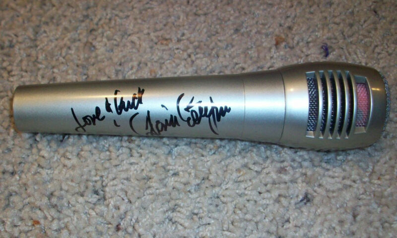 GLORIA ESTEFAN SIGNED AUTOGRAPH BRAND NEW MICROPHONE B w/EXACT PROOF