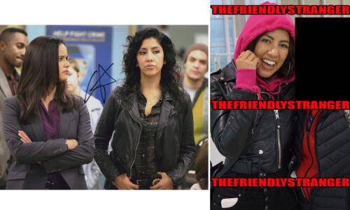 "STEPHANIE BEATRIZ signed ""BROOKLYN NINE-NINE"" 8X10 PHOTO c PROOF - Rosa Diaz COA"