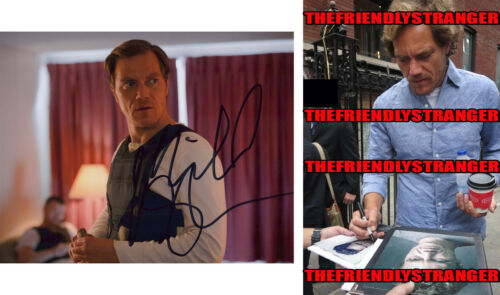 MICHAEL SHANNON signed Autographed 8X10 PHOTO G - PROOF - Knives Out COA