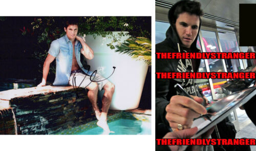 ROBBIE AMELL signed Autographed 8X10 PHOTO A - PROOF - Hot SEXY Upload COA