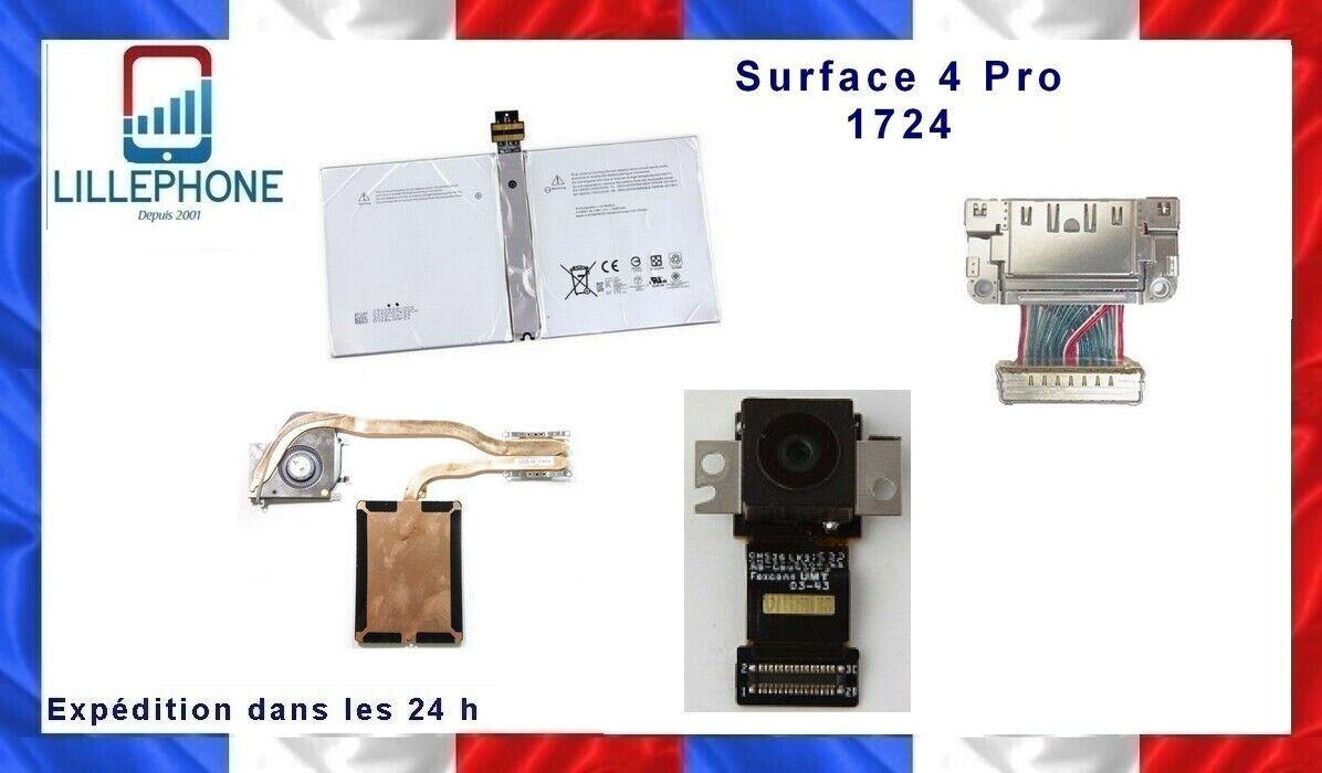 Surface 4 pro 1724 pièces originales connecteur caméra batterie ventilo