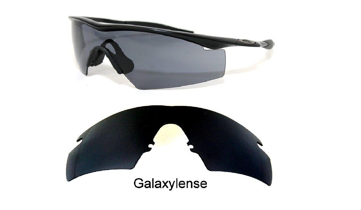 bfc9cf43450 Galaxy Replacement Lenses Oakley M Frame 2.0 Strike Black Polycarbonate  100%UVAB