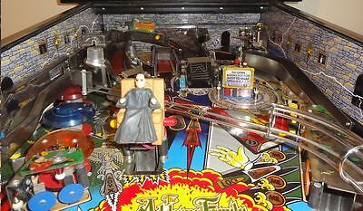 Addams Family Pinball Inner Cab & Backboard Decal Set Mod